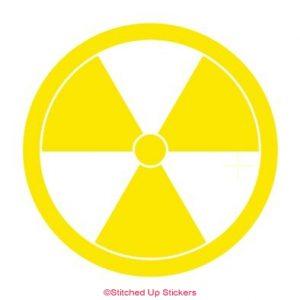 Radioactive Sticker Yellow