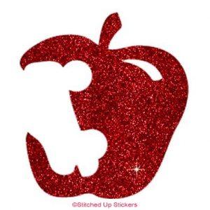 Apple Skate Bite Sticker