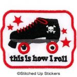 How I Roll, Roller Derby Patch