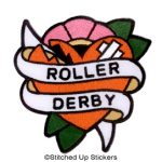 Roller Derby Patch, Adam Potts