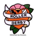Roller Derby Patch, Adam Potts