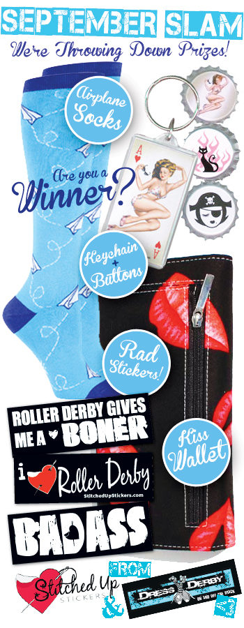 Roller Derby Socks Contest