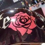 Custom Glitter Pink Rose