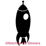 Rocket Decal