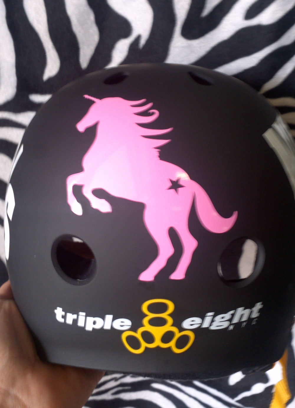 Unicorn Sticker Decal For Car Helmet Stitched Up Stickers