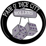 Pair O Dice City Roller Derby