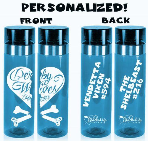 Derby Wives Forever Bottles Blue