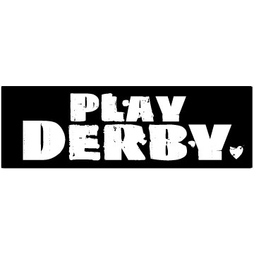 Play Roller Derby Sticker