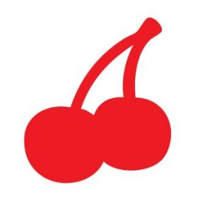 Red Cherries Sticker Decal