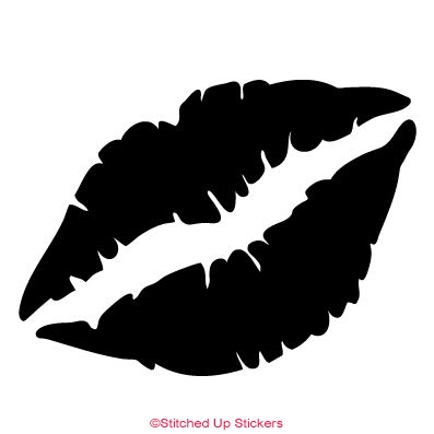 Lips Sticker Decal