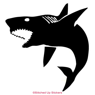 Shark Sticker Vinyl