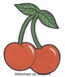 Cherry Roller Derby Patch