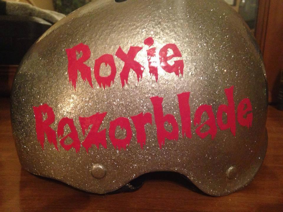 Custom Font, Roller Derby Red Vinyl