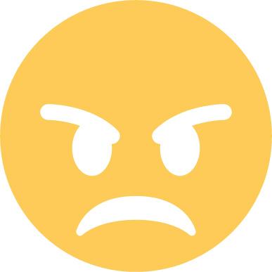 angry emoji sticker
