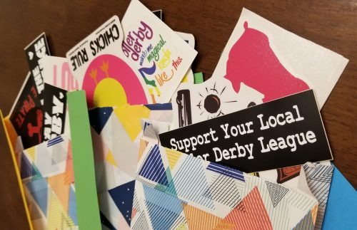 Roller Derby Grab Bag of Stickers