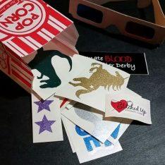 Roller Derby Sticker Club Random Sticker Pack