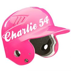 Kids softball helmet name